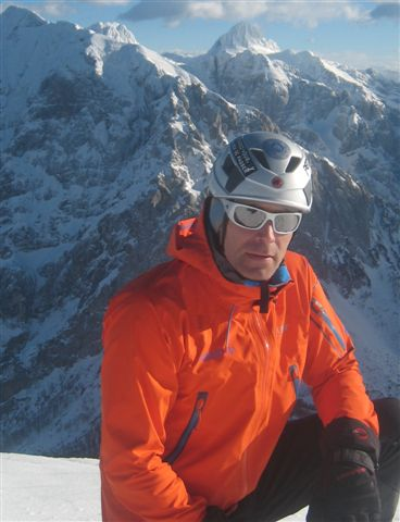 Aljaž Anderle, mountain guide